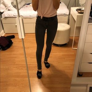 Abercrombie & Fitch Gray Jeans